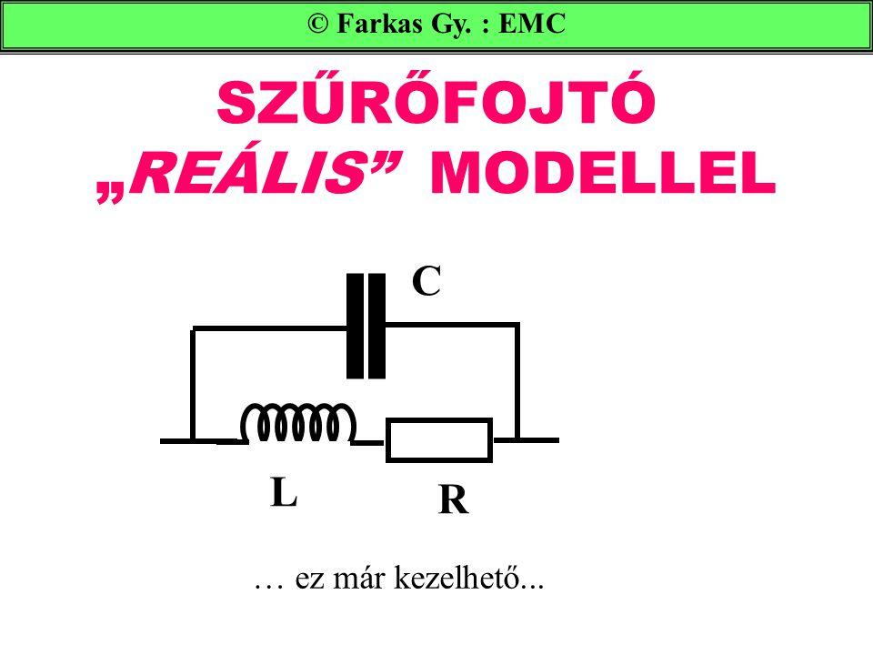 """SZŰRŐFOJTÓ """"REÁLIS MODELLEL © Farkas Gy. : EMC C R L … ez már kezelhető..."""