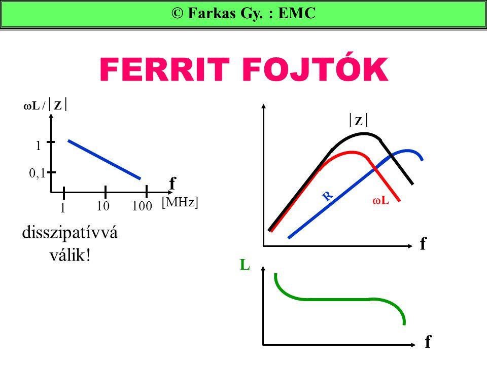 FERRIT FOJTÓK © Farkas Gy.