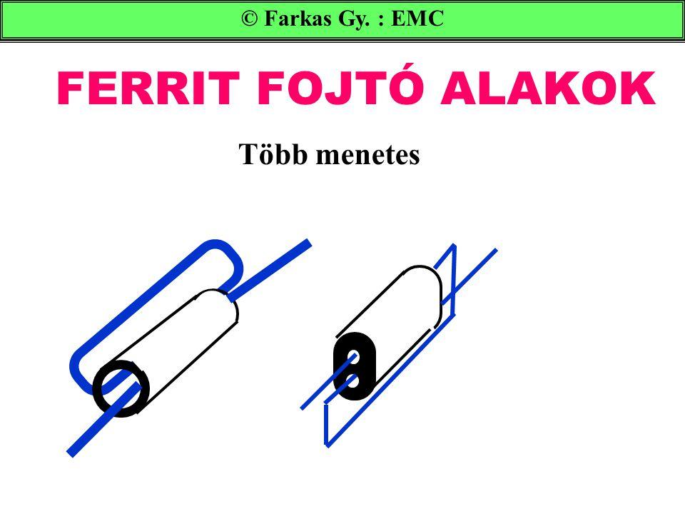 FERRIT FOJTÓ ALAKOK © Farkas Gy. : EMC Több menetes