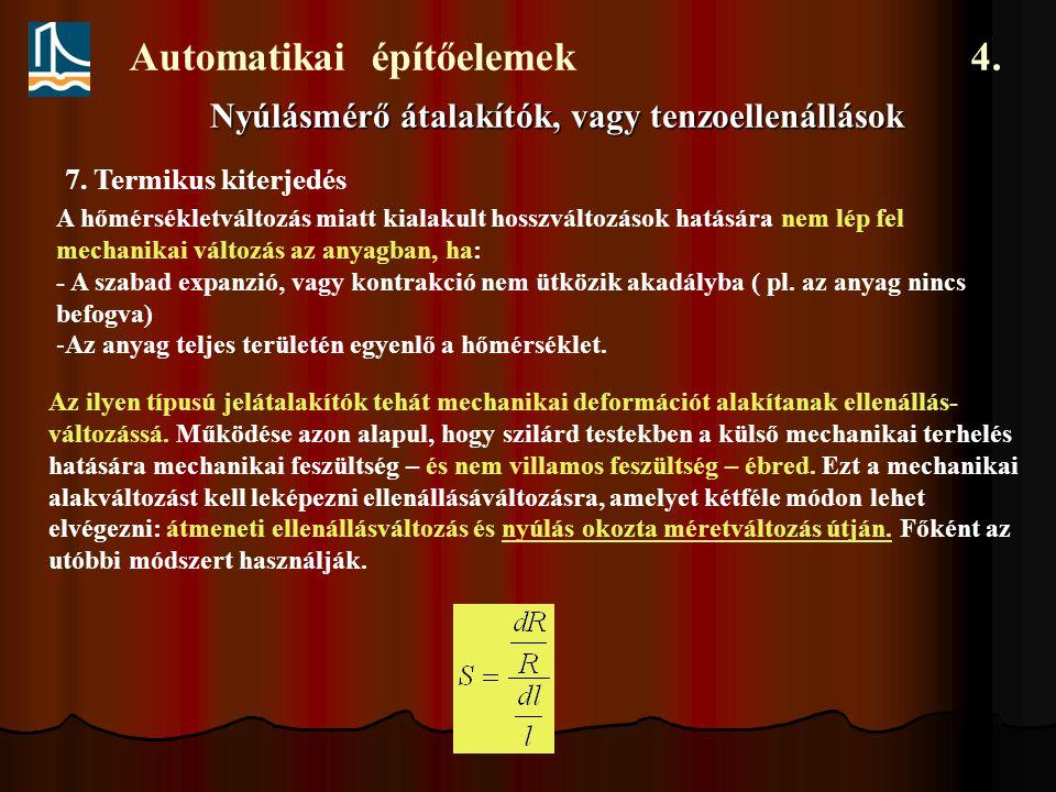 Automatikai építőelemek 4.