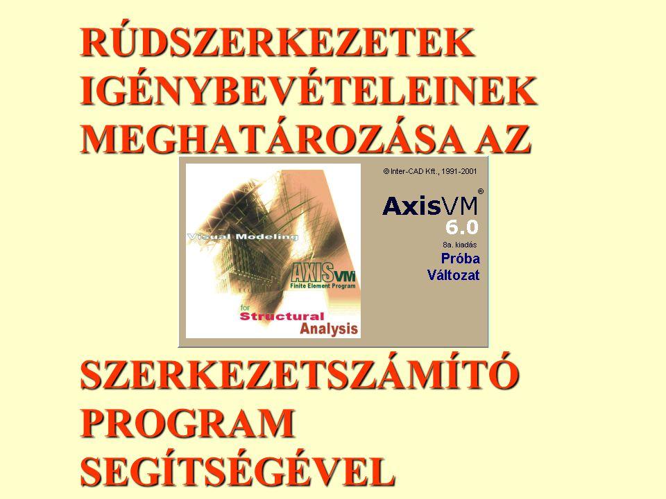 ELEMEK: A RÚDELEMEK ANYAGÁNAK-SZELVÉNYÉNEK DEFINIÁLÁSA III.