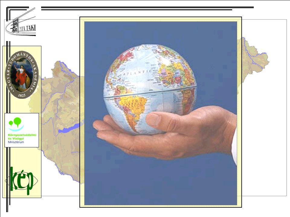 Következtetések, koncepció (3) Módszertani célkitűzés 1)Döntéstámogató rendszer megtervezése, amely alkalmas integrált állapotértékelés készítésére országos és regionális léptékben (és helyi szinten), egy mintaterületen.