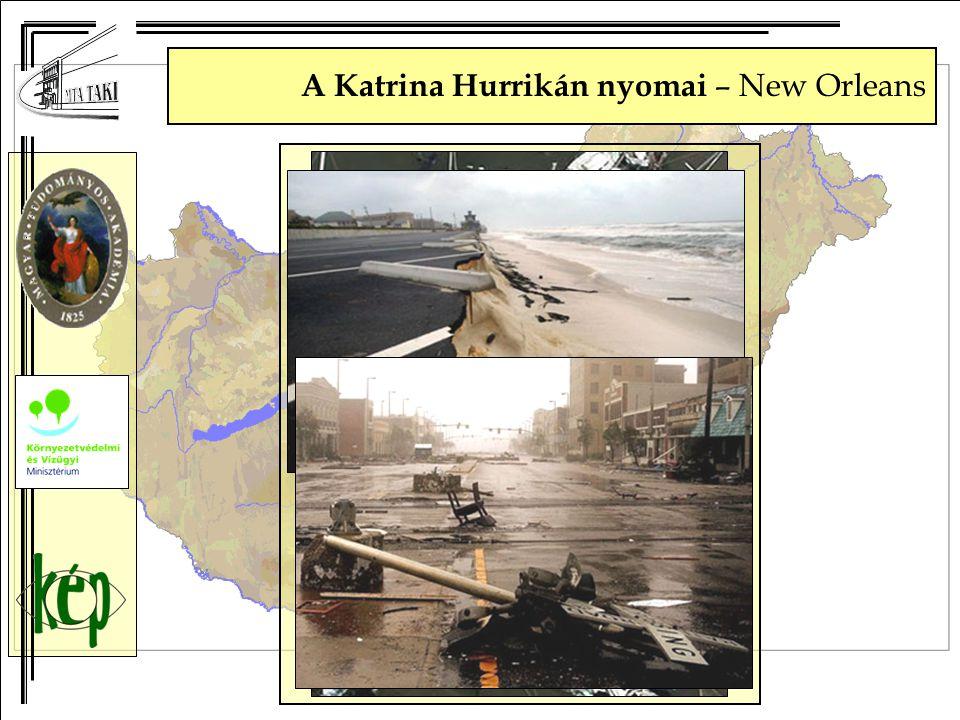 A Katrina Hurrikán nyomai – New Orleans