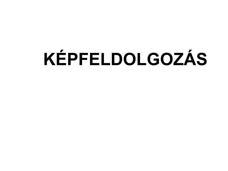 KÉPFELDOLGOZÁS