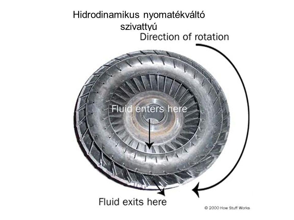 Hidrodinamikus nyomatékváltó szivattyú
