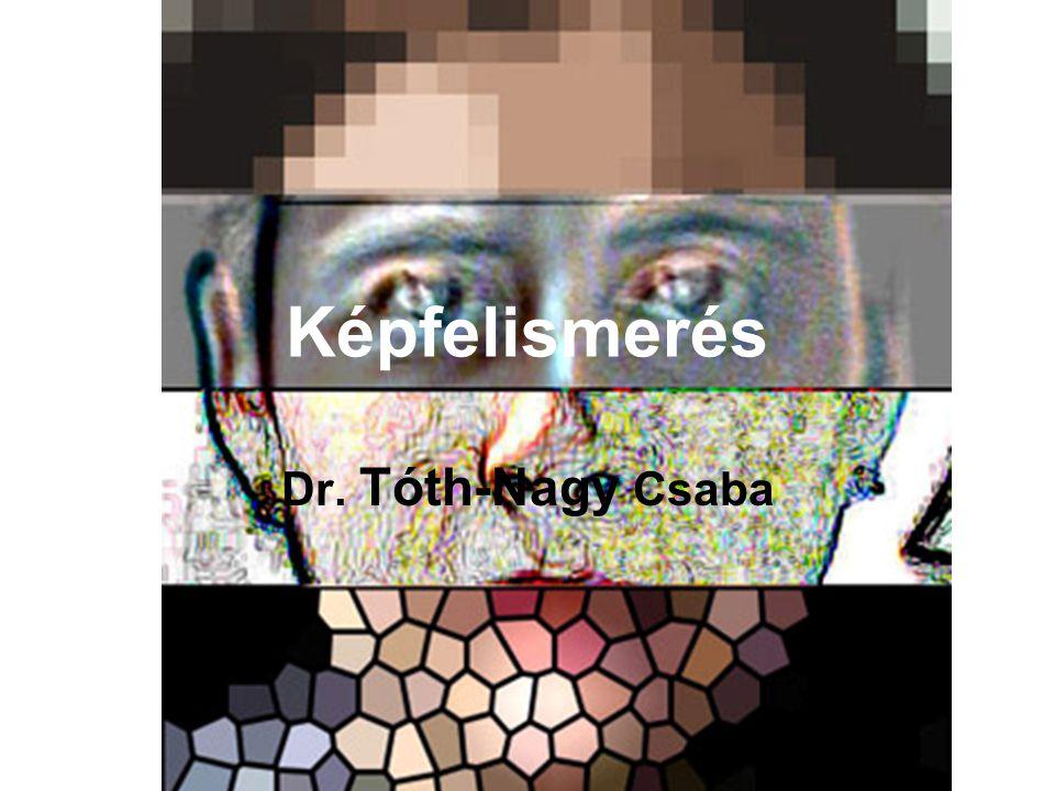 Képfelismerés Dr. Tóth-Nagy Csaba