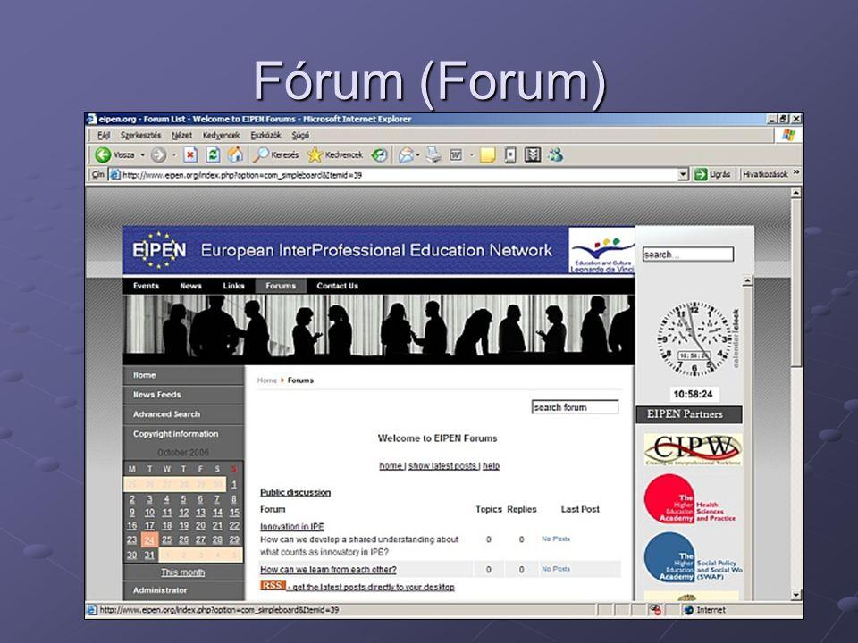Fórum (Forum)