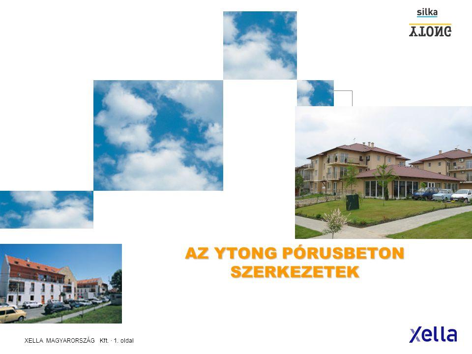 XELLA MAGYARORSZÁG Kft.· 31. oldal HŐTECHNIKAI RENDELETNEK MEGFELELŐ lapostetők - 2006.