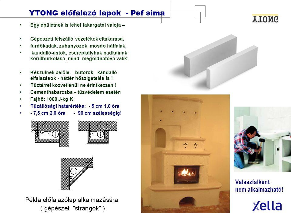 XELLA MAGYARORSZÁG Kft. · 10. oldal Építőelemek: Vasalt födém-, fal-, és tetőpallók DE Födémpallók - v = 24, 30 cm Nagyobb teherbírás DA Tetőpallók -