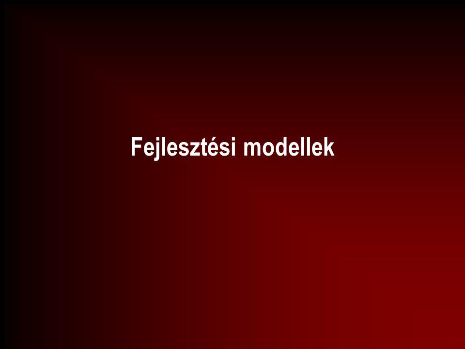 Fejlesztési modellek