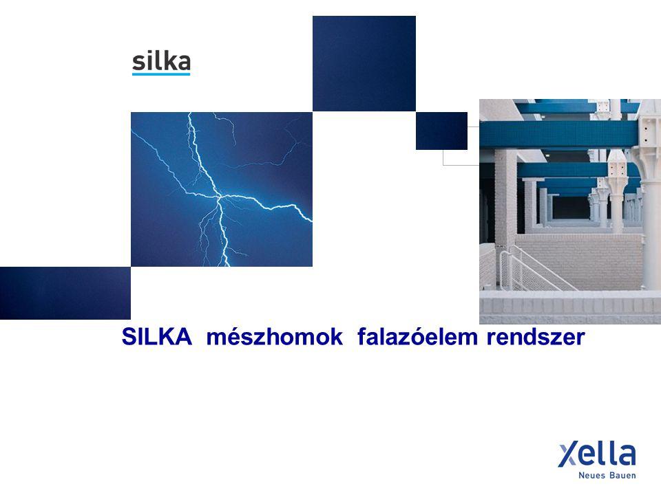 - történelem, alapanyagok, gyártás - SILKA fehér termékek elemválaszték - alkalmazási területek - épületfizikai tulajdonságok – hő, hang, tűz - tervezési szabályok - statika - burkolótégla és látszó falazatok - csomópontok, szerkezeti megoldások