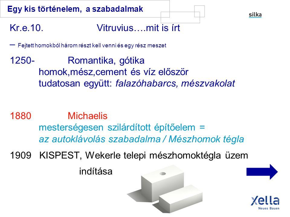- 10 cm-es - 15 cm-es Xella – mészhomok válaszfal lapok...
