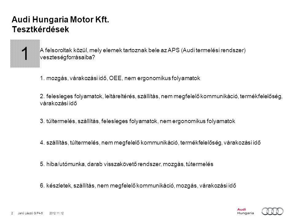 2Janó László G/P4-5 2012.11.12 Audi Hungaria Motor Kft.
