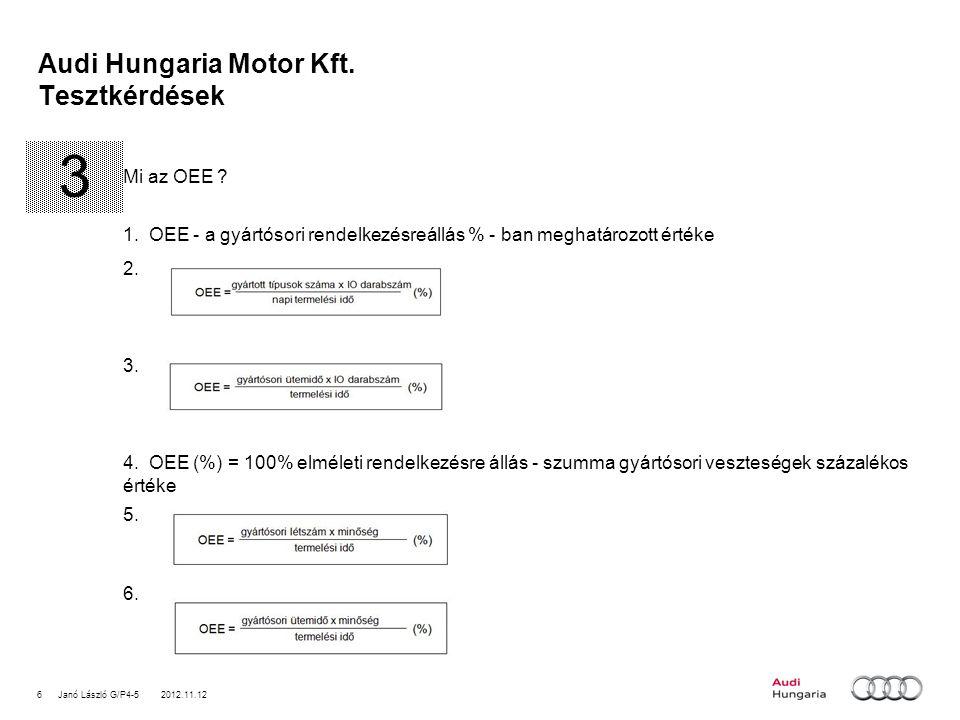 7Janó László G/P4-5 2012.11.12 Audi Hungaria Motor Kft.