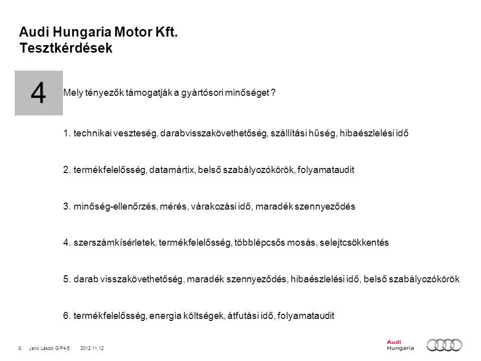 8Janó László G/P4-5 2012.11.12 Audi Hungaria Motor Kft.