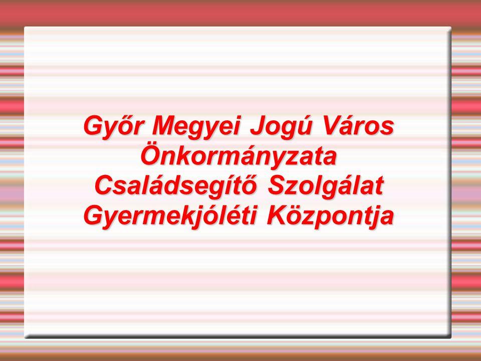 Győr Megyei Jogú Város Önkormányzata Családsegítő Szolgálat Gyermekjóléti Központja