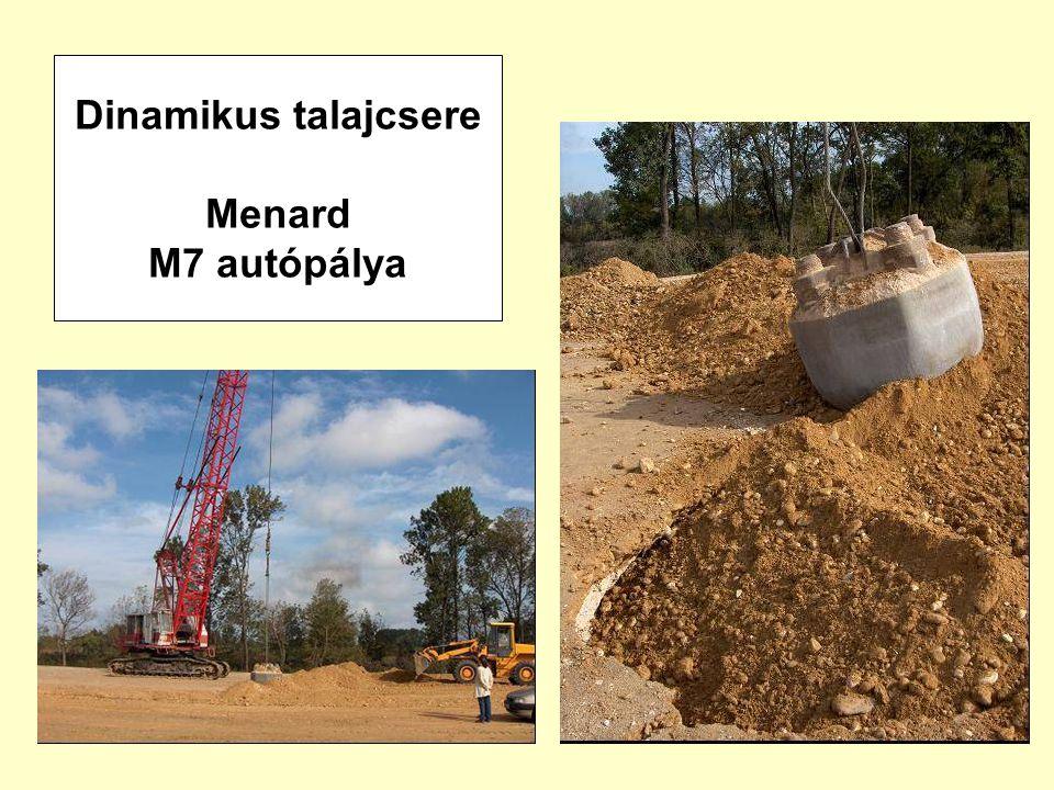 51 Dinamikus talajcsere Menard M7 autópálya