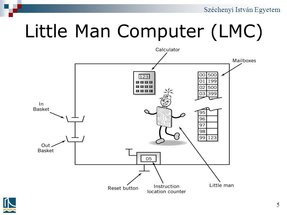 Széchenyi István Egyetem 6 Little Man Computer (LMC)