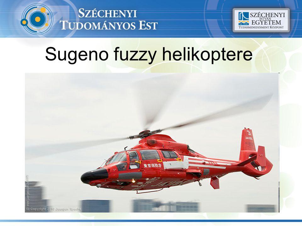 Sugeno fuzzy helikoptere