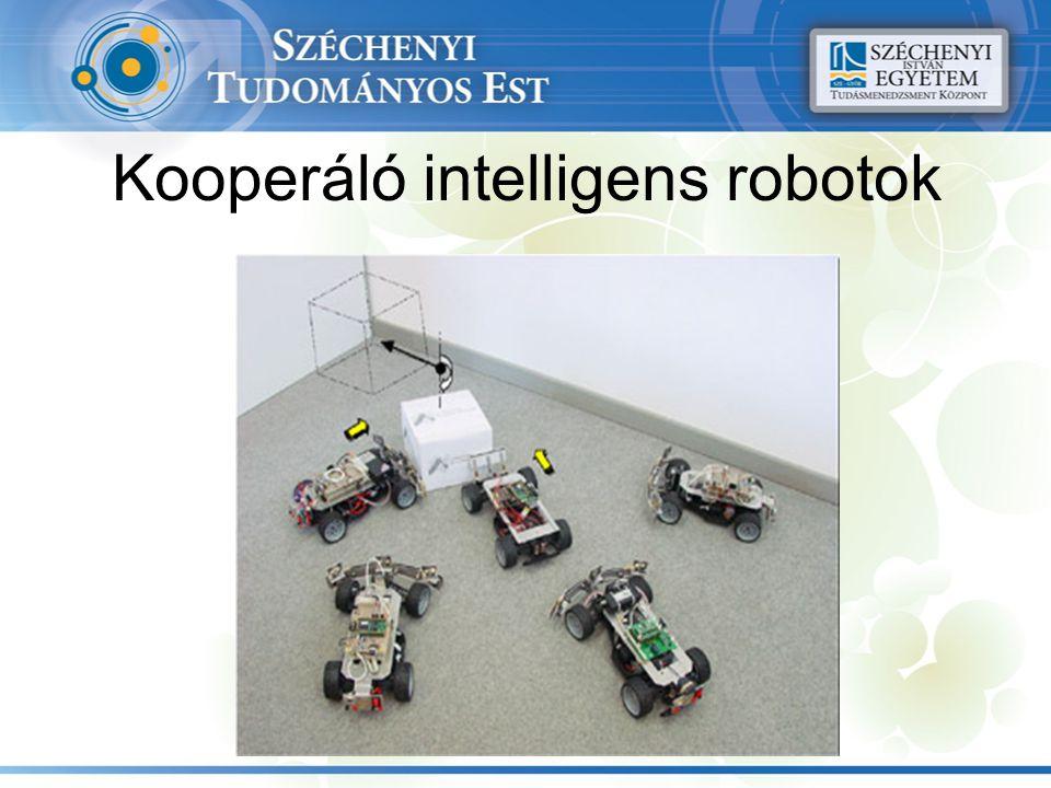Kooperáló intelligens robotok