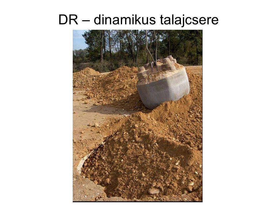 DR – dinamikus talajcsere