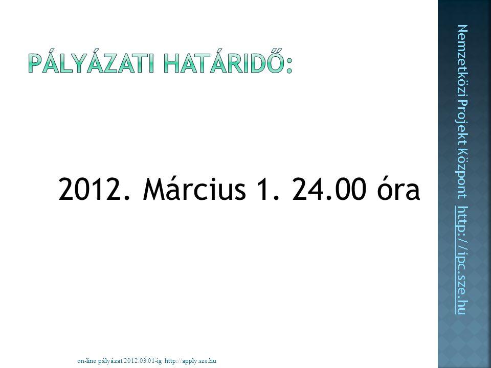 2012. Március 1.