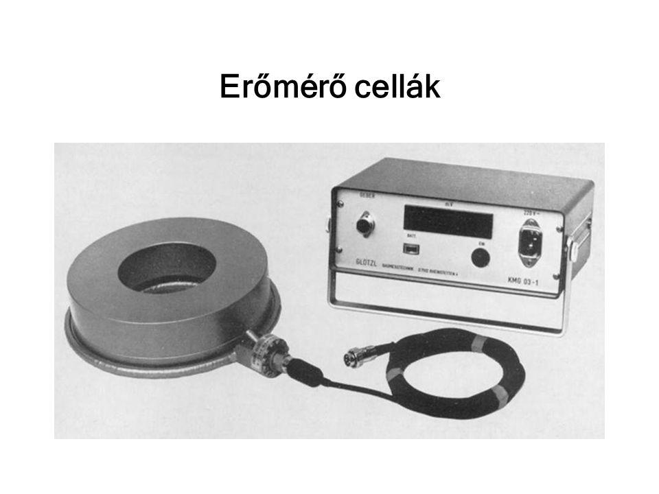 Erőmérő cellák