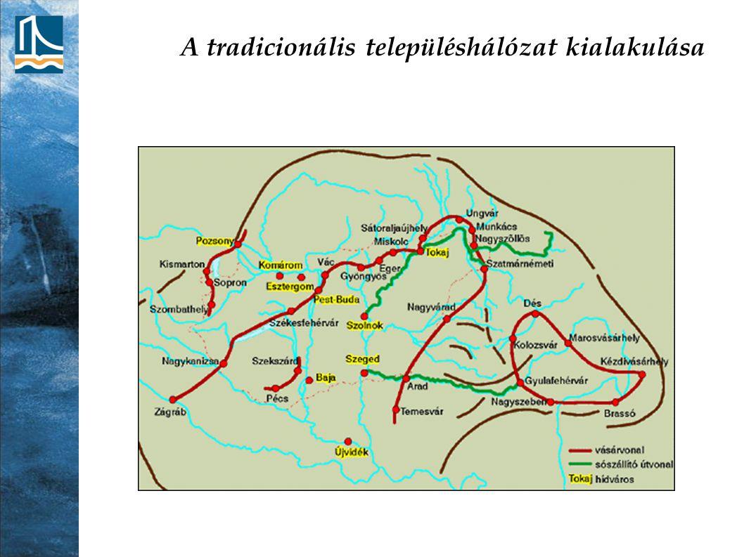 A településhálózat változásai a török hódoltság idején A 15.