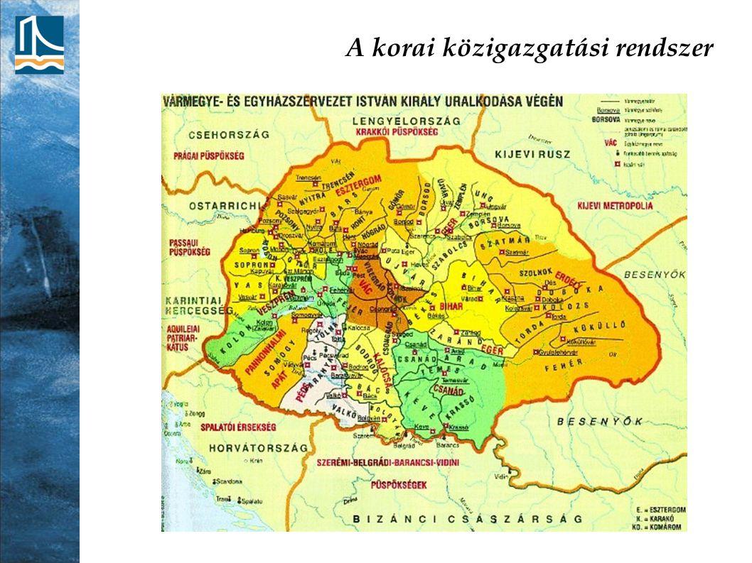 A területfejlesztés helyzete a rendszerváltás után Első szakasz (1990-1996) Az önkormányzati törvény jelentős változást hoz a települések helyzetében és lehetőségeiben A településhálózat koncepcionális fejlesztése nem működik, nagy idegenkedés Köztes közigazgatási szint létrehozása; kistérségek, tervezési- statisztikai régiók Az egyenlőtlenségek tovább növekednek minden térbeli dimenzióban Budapesti agglomeráció: felgyorsulnak a másodlagos szuburbanizációs folyamatok Az ipari szerkezetváltás térségei: a központok népessége rohamosan csökken
