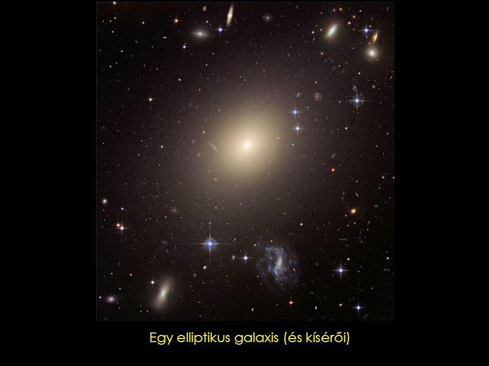 Egy spirális galaxis (és kísérője)