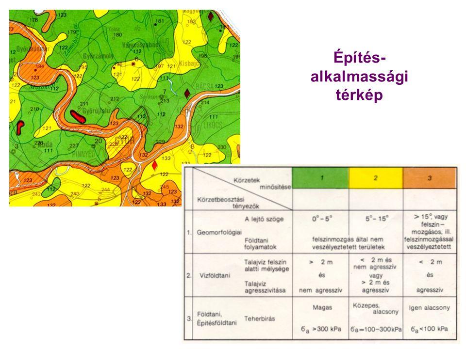 Építés- alkalmassági térkép