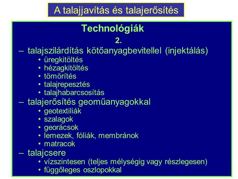 Technológiák 2.