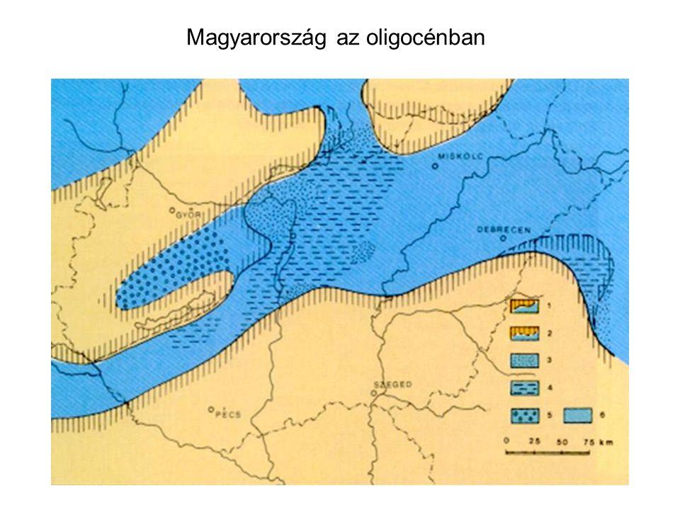 Magyarország az oligocénban