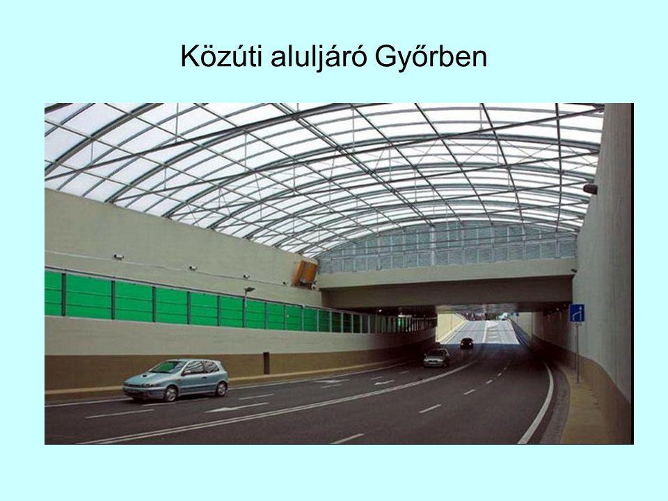 Közúti aluljáró Győrben