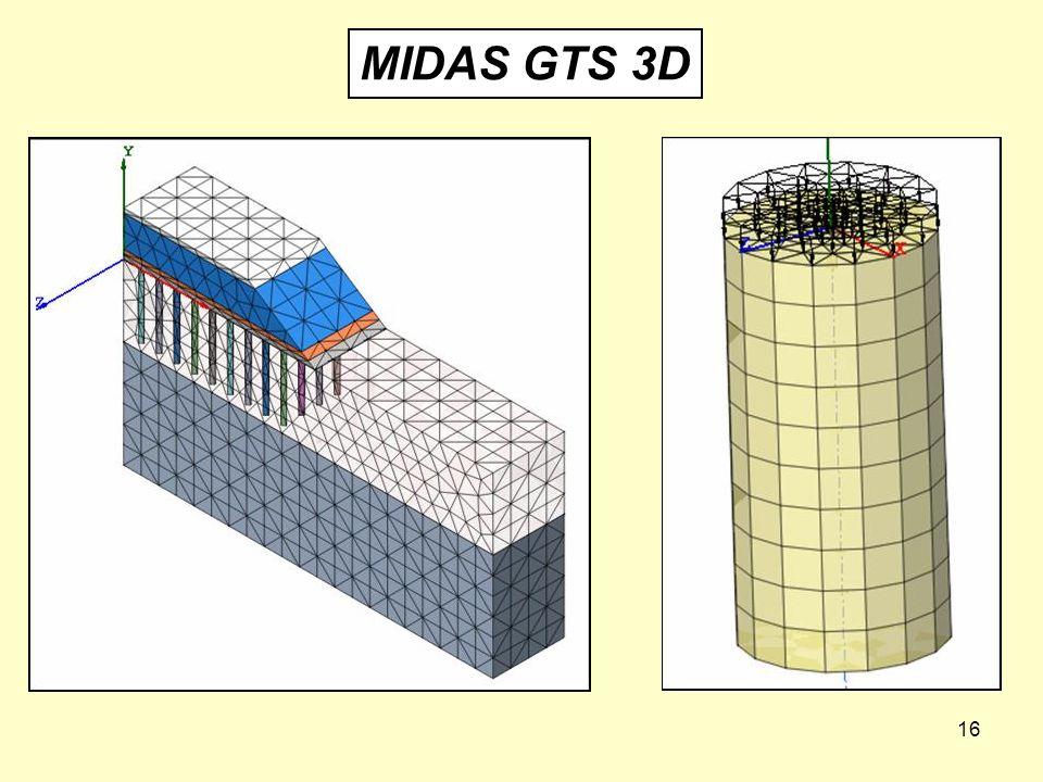 16 MIDAS GTS 3D