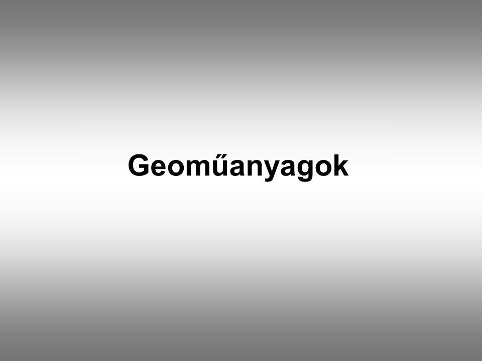 Geoműanyagok
