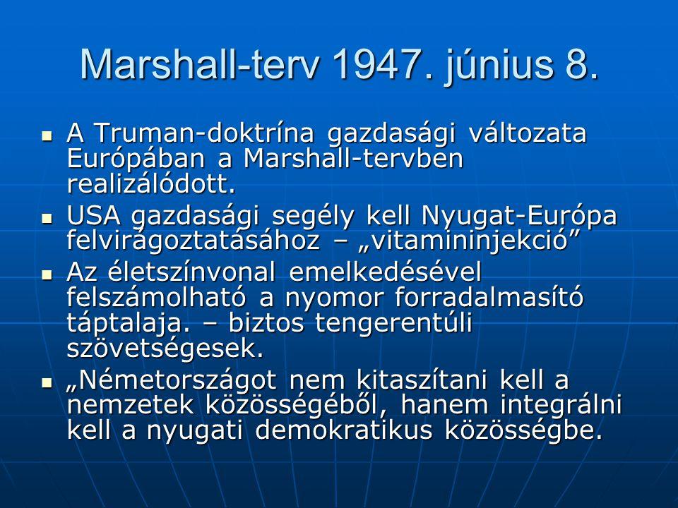 Marshall-terv 1947.június 8.