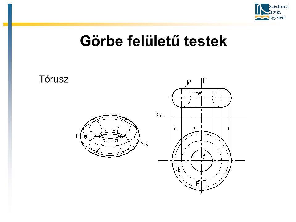 Széchenyi István Egyetem Görbe felületű testek Tórusz