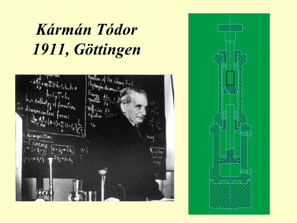Kármán Tódor 1911, Göttingen