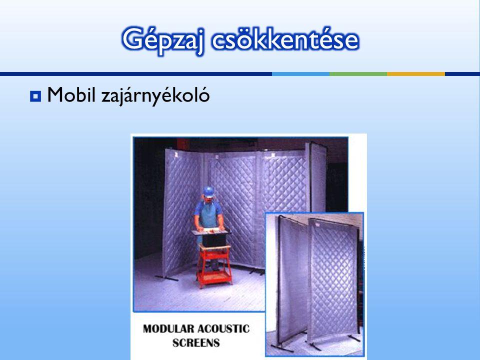  Mobil zajárnyékoló