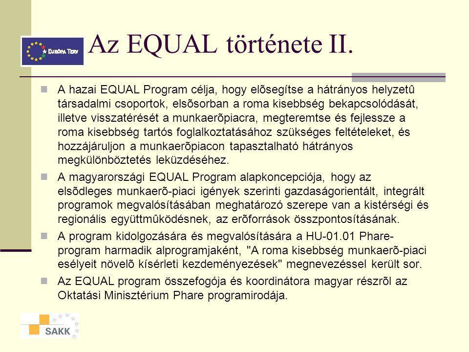 Az EQUAL története II.