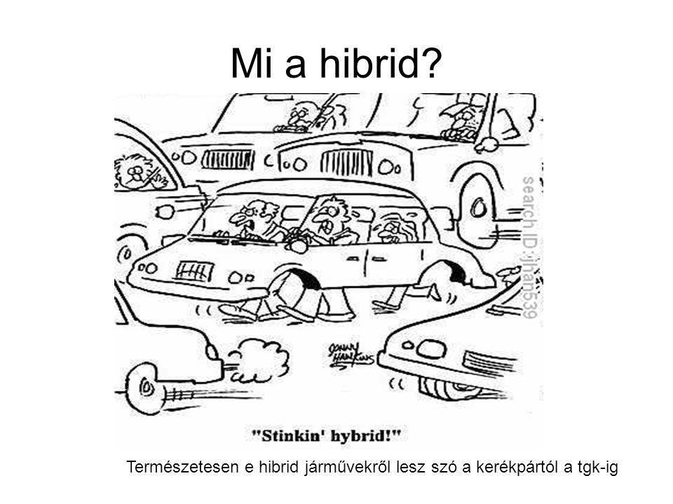 Mi a hibrid? Természetesen e hibrid járművekről lesz szó a kerékpártól a tgk-ig