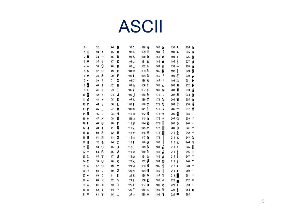 ASCII 5