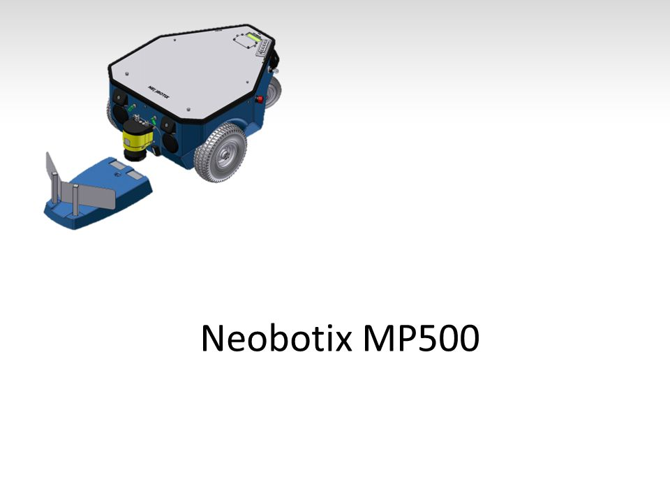 Felépítése Ipari kivitel Linux Wifi 802.11n CAN Terhelhetőség: 80kg 5,5 km/h Üzemidő: ~10 h Hatótáv: 8km