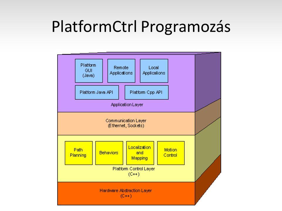 PlatformCtrl Programozás