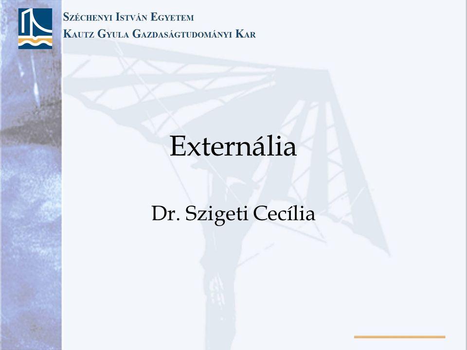 Externália Dr. Szigeti Cecília