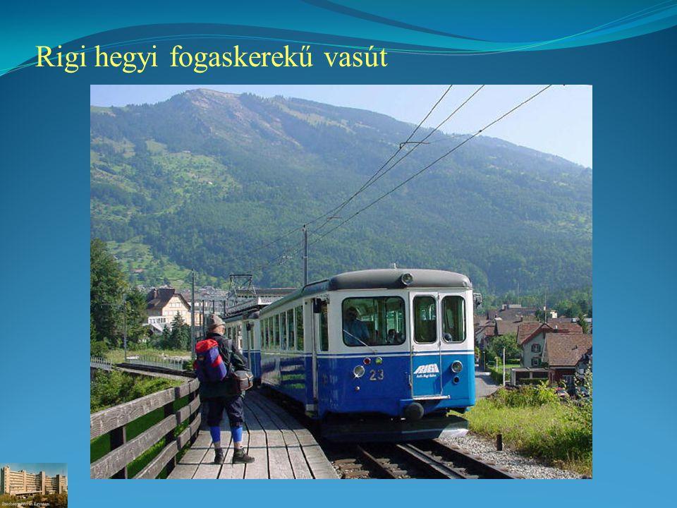 Rigi hegyi fogaskerekű vasút