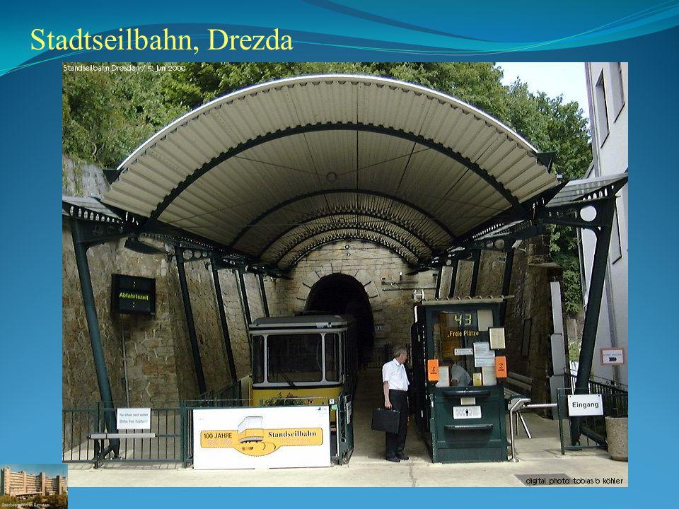 Stadtseilbahn, Drezda