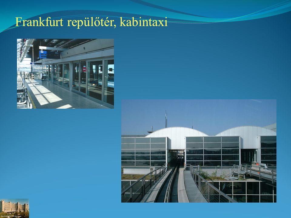 Frankfurt repülőtér, kabintaxi