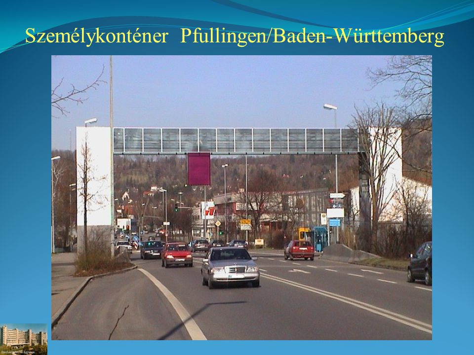 Személykonténer Pfullingen/Baden-Württemberg